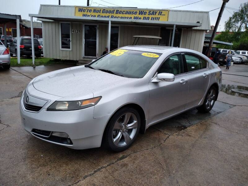 2014 Acura TL for sale at Taylor Trading Co in Beaumont TX