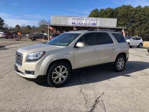 2015 GMC Acadia for sale at Greenbrier Auto Sales in Greenbrier AR