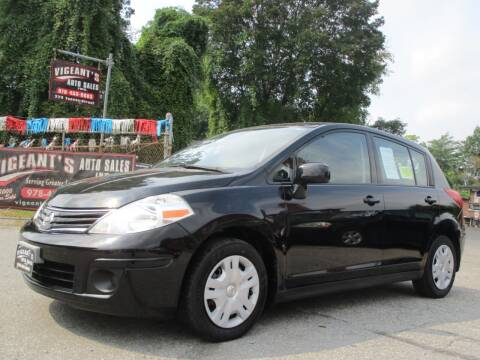 2010 Nissan Versa for sale at Vigeants Auto Sales Inc in Lowell MA