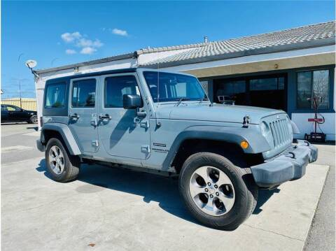 2015 Jeep Wrangler Unlimited for sale at KARS R US in Modesto CA