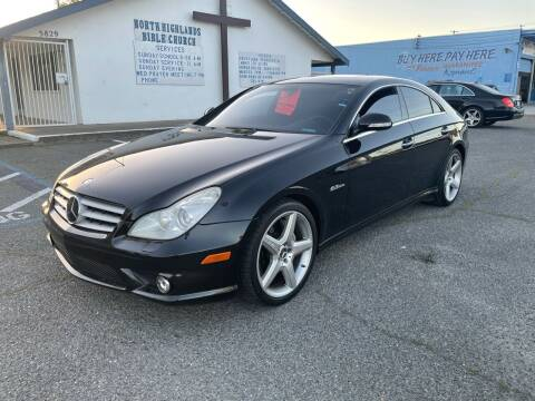 2007 Mercedes-Benz CLS for sale at All Cars & Trucks in North Highlands CA