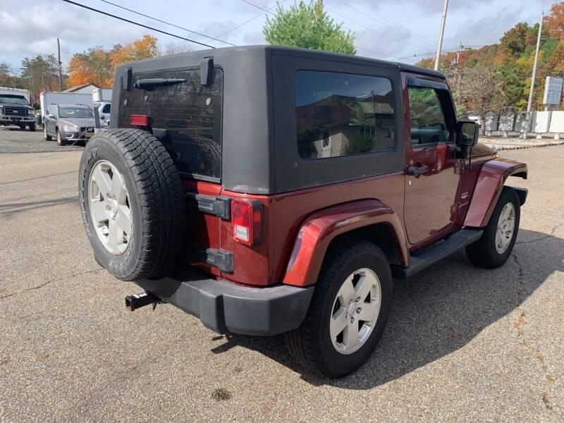 2007 Jeep Wrangler 4x4 Sahara 2dr SUV - Newfoundland NJ