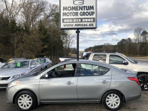 2014 Nissan Versa for sale at Momentum Motor Group in Lancaster SC