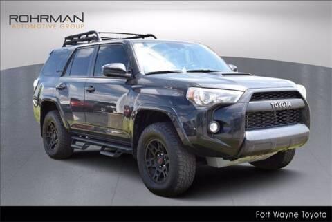 2019 Toyota 4Runner for sale at BOB ROHRMAN FORT WAYNE TOYOTA in Fort Wayne IN