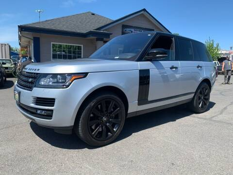 2017 Land Rover Range Rover for sale at South Commercial Auto Sales in Salem OR
