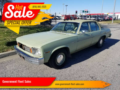 1975 Chevrolet Nova for sale at Government Fleet Sales in Kansas City MO