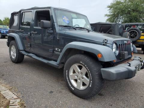 2008 Jeep Wrangler Unlimited for sale at Rodgers Wranglers in North Charleston SC