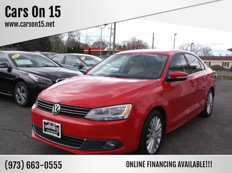 2011 Volkswagen Jetta for sale at Cars On 15 in Lake Hopatcong NJ