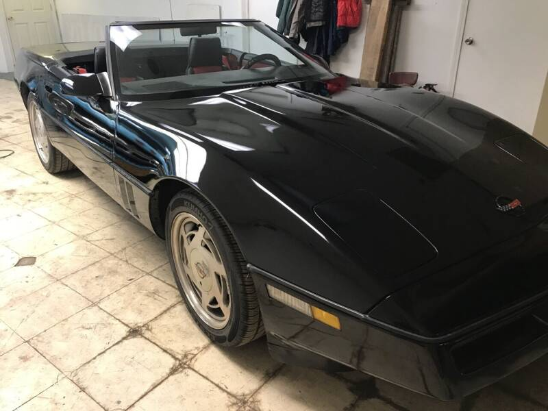 1987 Chevrolet Corvette for sale at AMK Auto Brokers in Derry NH