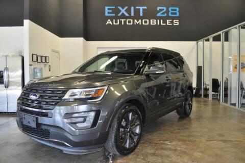 2017 Ford Explorer for sale at Exit 28 Auto Center LLC in Cornelius NC
