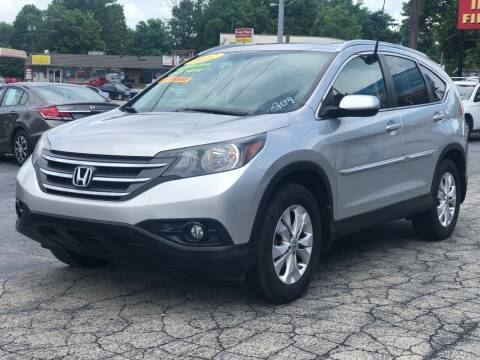 2012 Honda CR-V for sale at Apex Knox Auto in Knoxville TN
