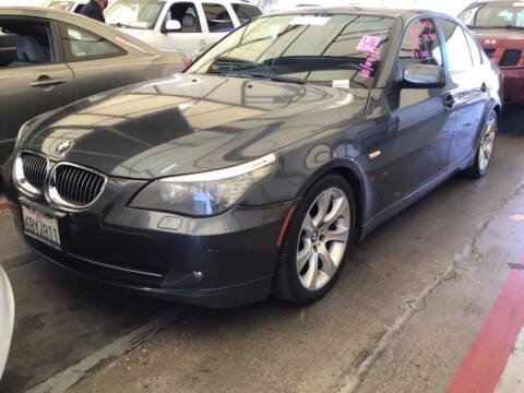 2008 BMW 5 Series for sale at SoCal Auto Auction in Ontario CA