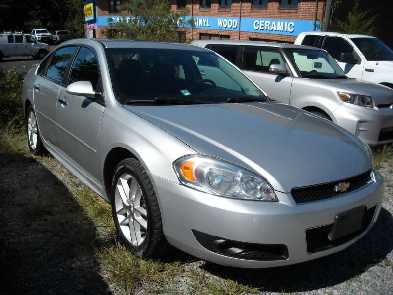 2014 Chevrolet Impala Limited for sale at Euroasian Motors LLC in Richmond VA