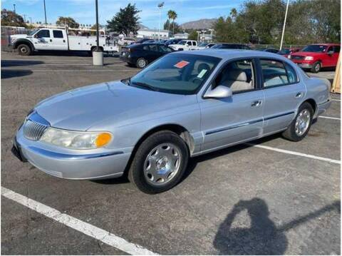 1999 Lincoln Continental for sale at Dealers Choice Inc in Farmersville CA