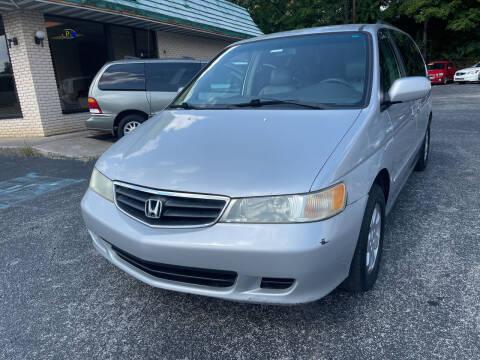 2004 Honda Odyssey for sale at Diana Rico LLC in Dalton GA