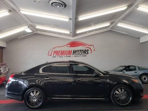 2013 Lincoln MKS for sale at Premium Motors in Villa Park IL