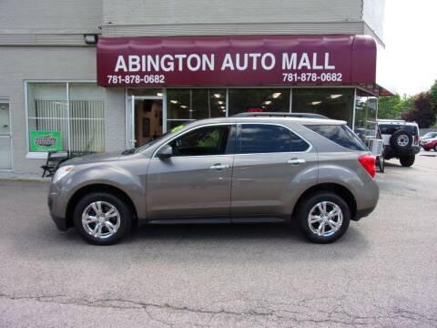 2012 Chevrolet Equinox for sale at Abington Auto Mall LLC in Abington MA