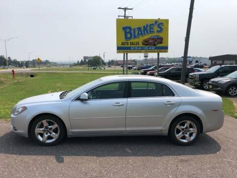 2010 Chevrolet Malibu for sale at Blake's Auto Sales in Rice Lake WI