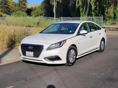 2016 Hyundai Sonata Hybrid for sale at Gateway Motors in Hayward CA