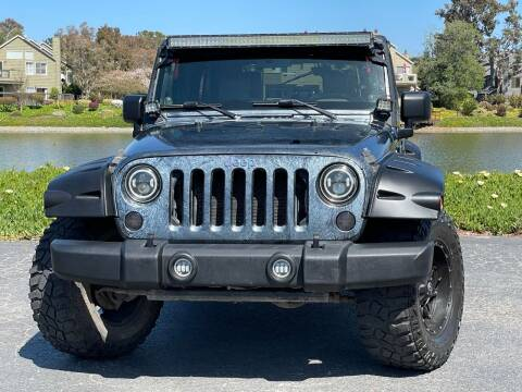 2007 Jeep Wrangler Unlimited for sale at Continental Car Sales in San Mateo CA