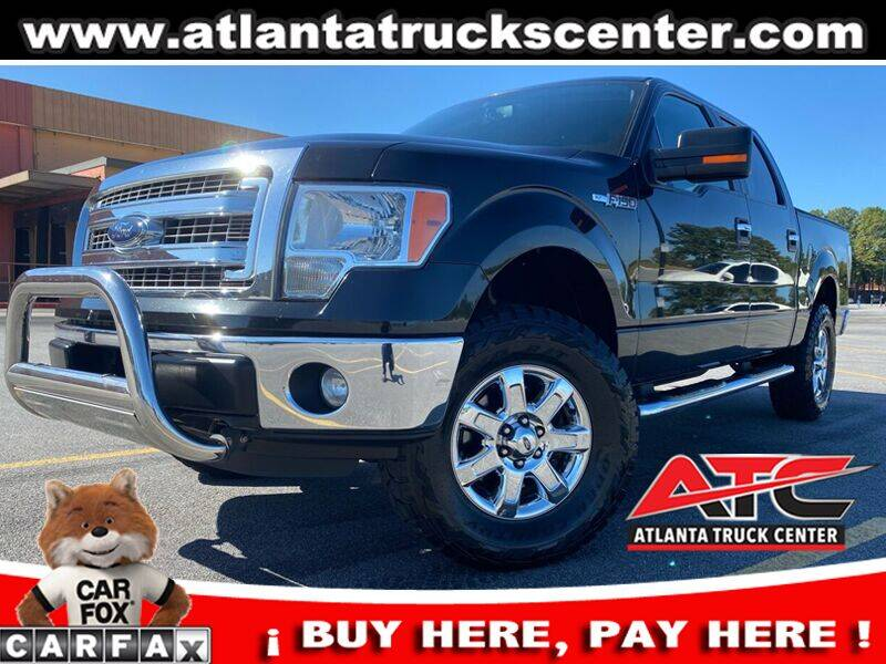 2013 Ford F-150 for sale at ATLANTA TRUCK CENTER LLC in Brookhaven GA