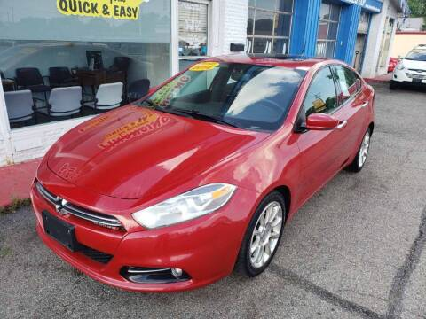 2014 Dodge Dart for sale at AutoMotion Sales in Franklin OH