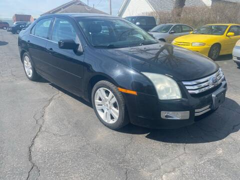 2008 Ford Fusion for sale at MARK CRIST MOTORSPORTS in Angola IN