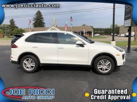 2016 Porsche Cayenne for sale at JOE RICCI AUTOMOTIVE in Clinton Township MI