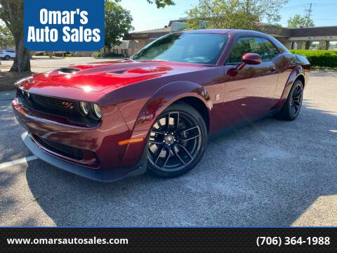 2019 Dodge Challenger for sale at Omar's Auto Sales in Martinez GA