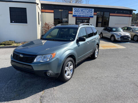 2010 Subaru Forester for sale at S & S Motors in Marietta GA