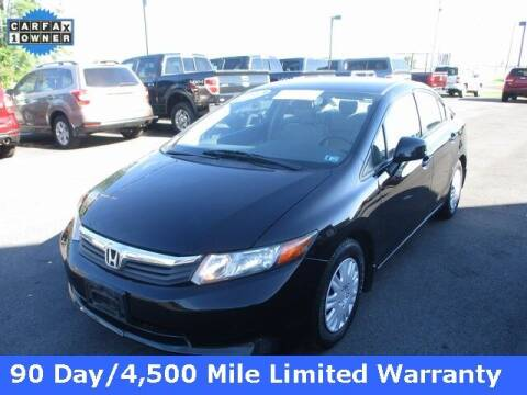 2012 Honda Civic for sale at FINAL DRIVE AUTO SALES INC in Shippensburg PA