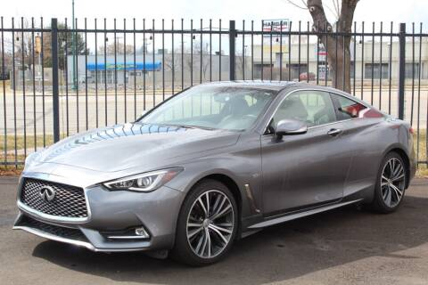 2017 Infiniti Q60 for sale at Avanesyan Motors in Orem UT
