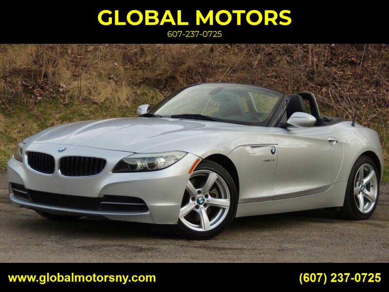 2012 BMW Z4 for sale at GLOBAL MOTORS in Binghamton NY
