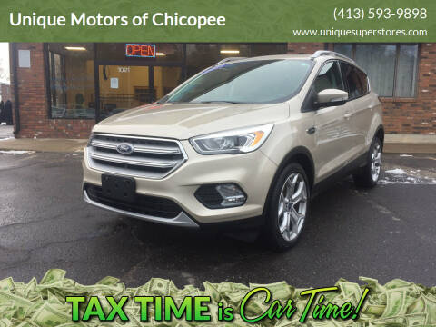 2017 Ford Escape for sale at Unique Motors of Chicopee in Chicopee MA