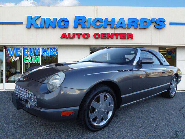 2003 Ford Thunderbird for sale at KING RICHARDS AUTO CENTER in East Providence RI