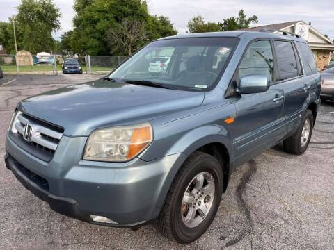 2006 Honda Pilot for sale at speedy auto sales in Indianapolis IN