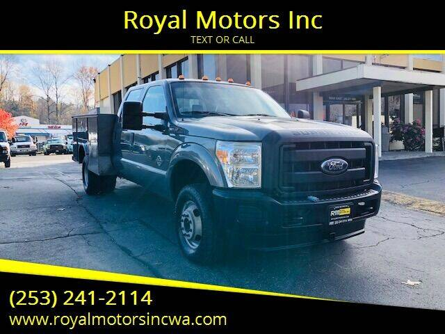 2011 Ford F-350 Super Duty for sale at Royal Motors Inc in Kent WA