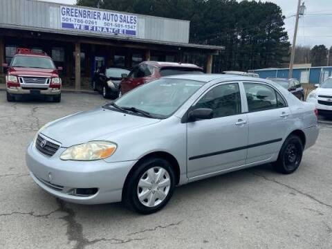 2008 Toyota Corolla for sale at Greenbrier Auto Sales in Greenbrier AR