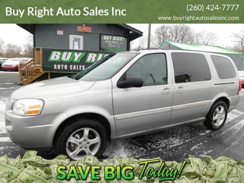 2005 Chevrolet Uplander for sale at Buy Right Auto Sales Inc in Fort Wayne IN