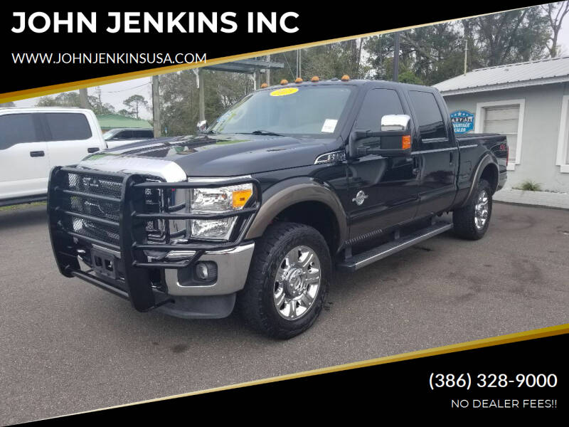 2015 Ford F-250 Super Duty for sale at JOHN JENKINS INC in Palatka FL