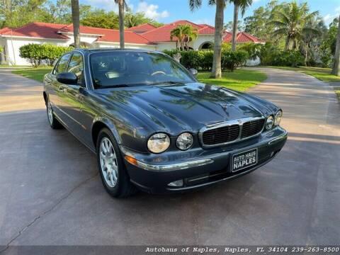 2004 Jaguar XJ-Series for sale at Autohaus of Naples Inc. in Naples FL