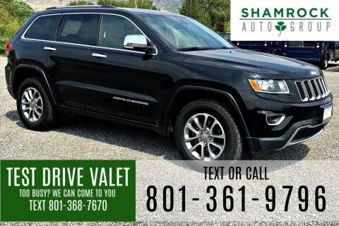 2015 Jeep Grand Cherokee for sale at Shamrock Group LLC #1 in Pleasant Grove UT