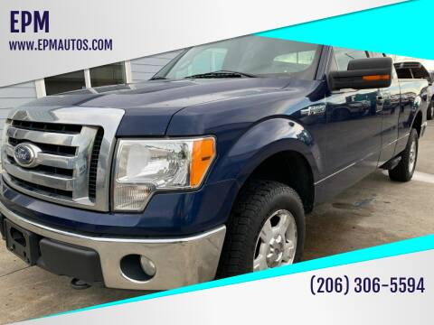 2010 Ford F-150 for sale at EPM in Auburn WA