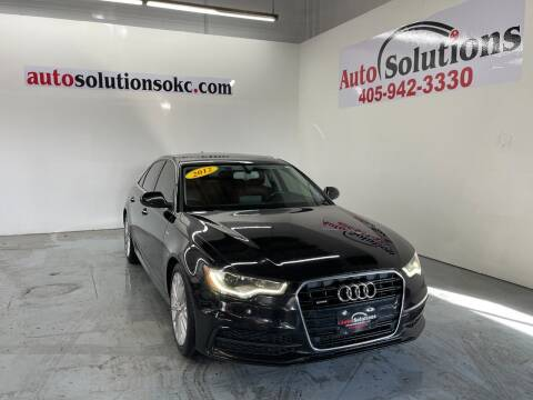 2012 Audi A6 for sale at Auto Solutions in Warr Acres OK