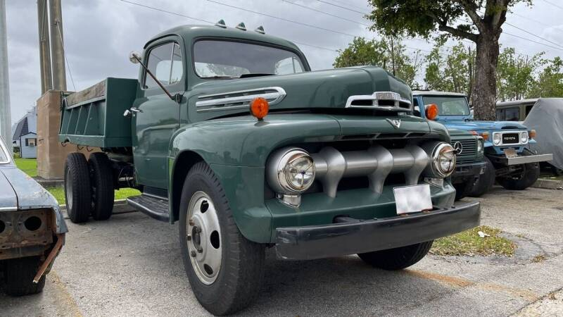 1951 Ford F-6 for sale at AutoCar Exotics in Medley FL