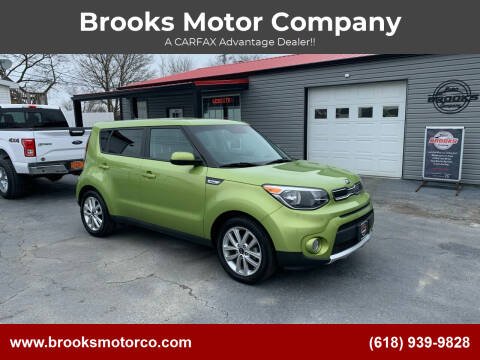 2017 Kia Soul for sale at Brooks Motor Company in Columbia IL