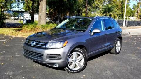 2012 Volkswagen Touareg for sale at Precision Auto Source in Jacksonville FL