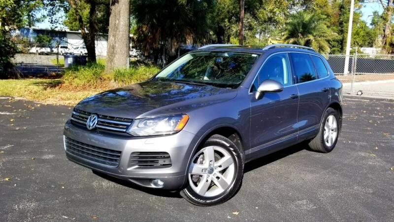 2012 Volkswagen Touareg for sale at Precision Auto Source in Jacksonville FL