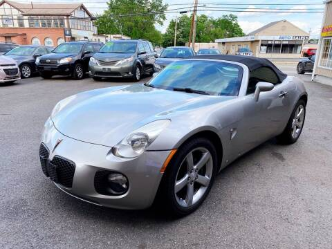 2007 Pontiac Solstice for sale at Dijie Auto Sale and Service Co. in Johnston RI