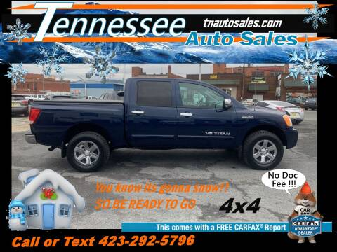 2011 Nissan Titan for sale at Tennessee Auto Sales in Elizabethton TN